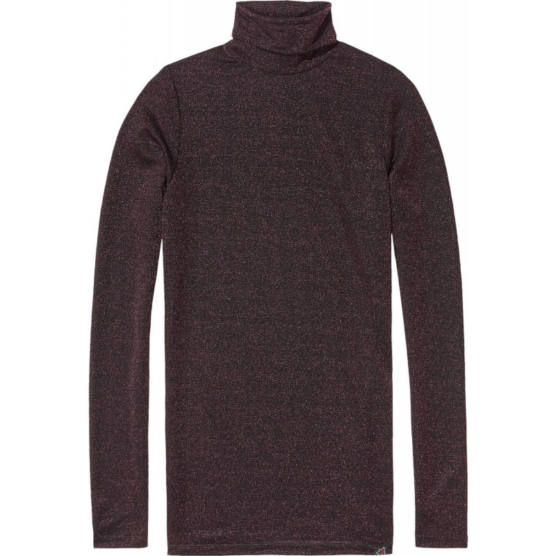 Long fitted turtle neck