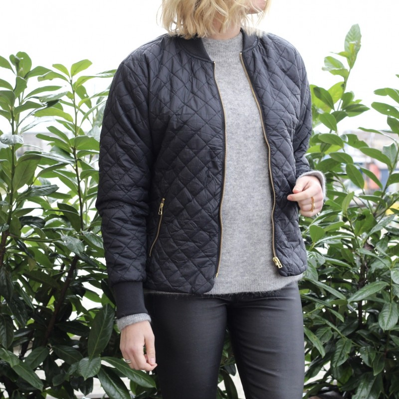 Day travel quilt short jacket