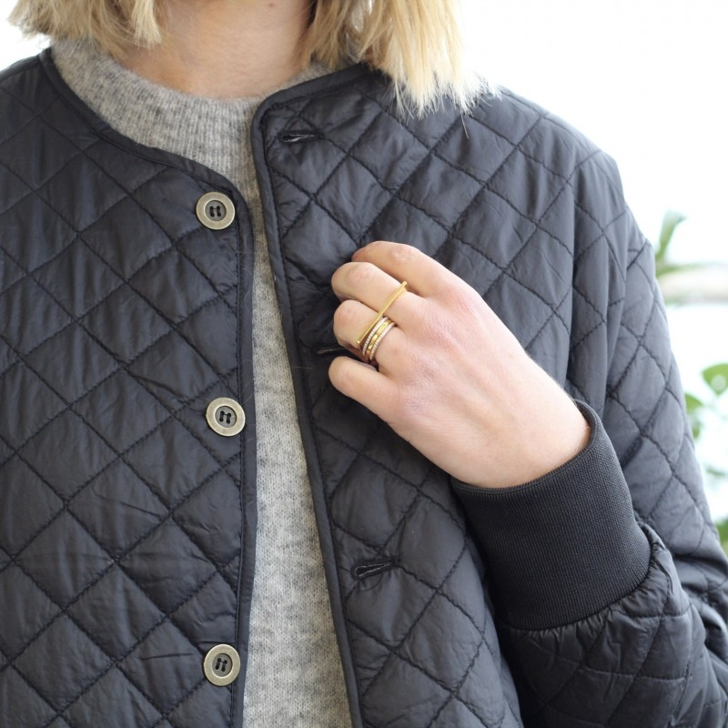 Day travel quilt jacket