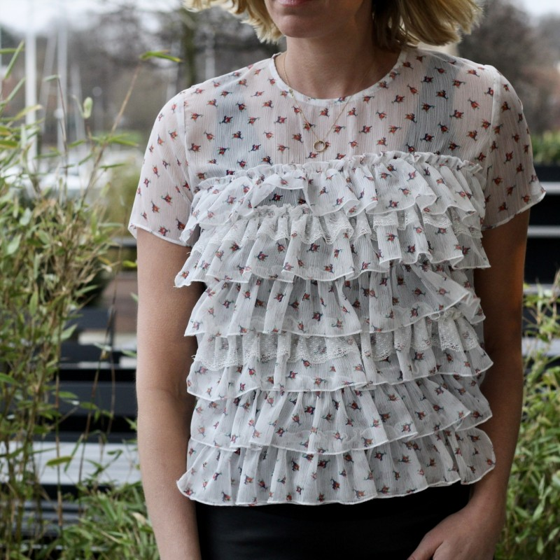 Camelia top - New Lily