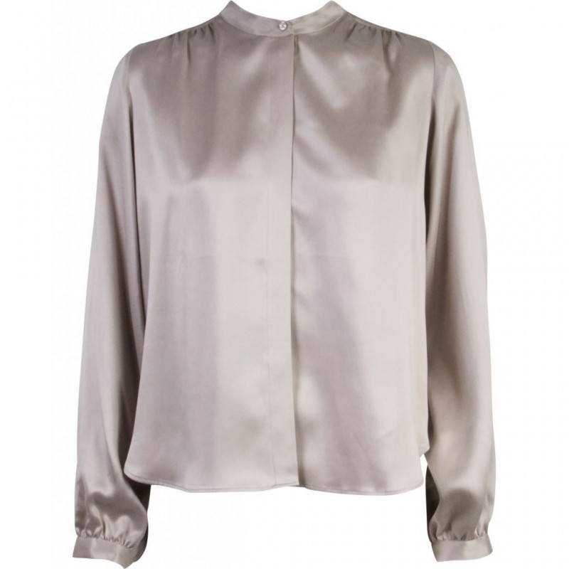 Moma sandwashed silk shirt