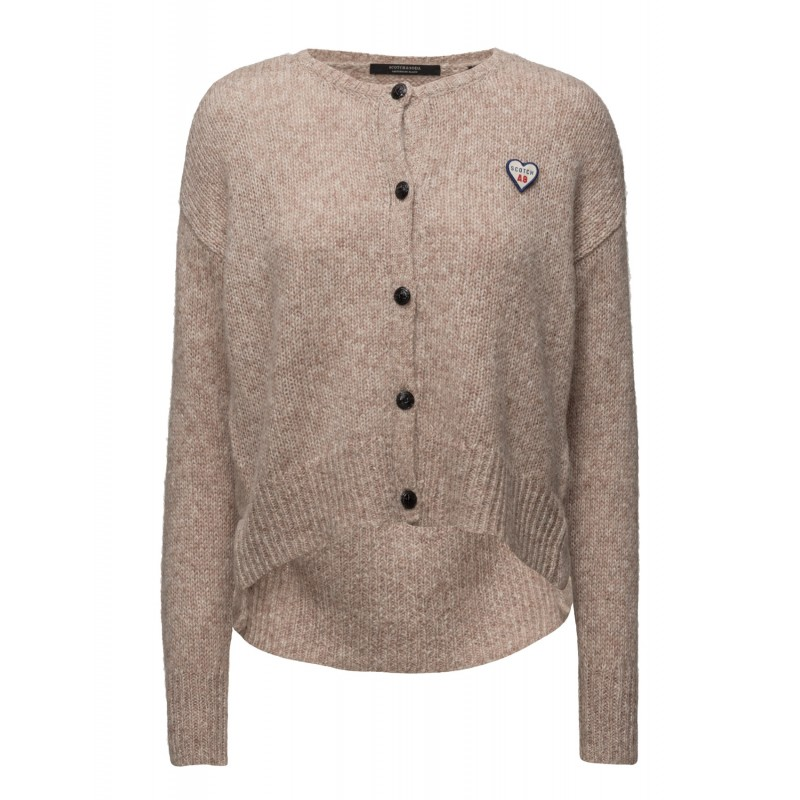 Loose fitted cardigan