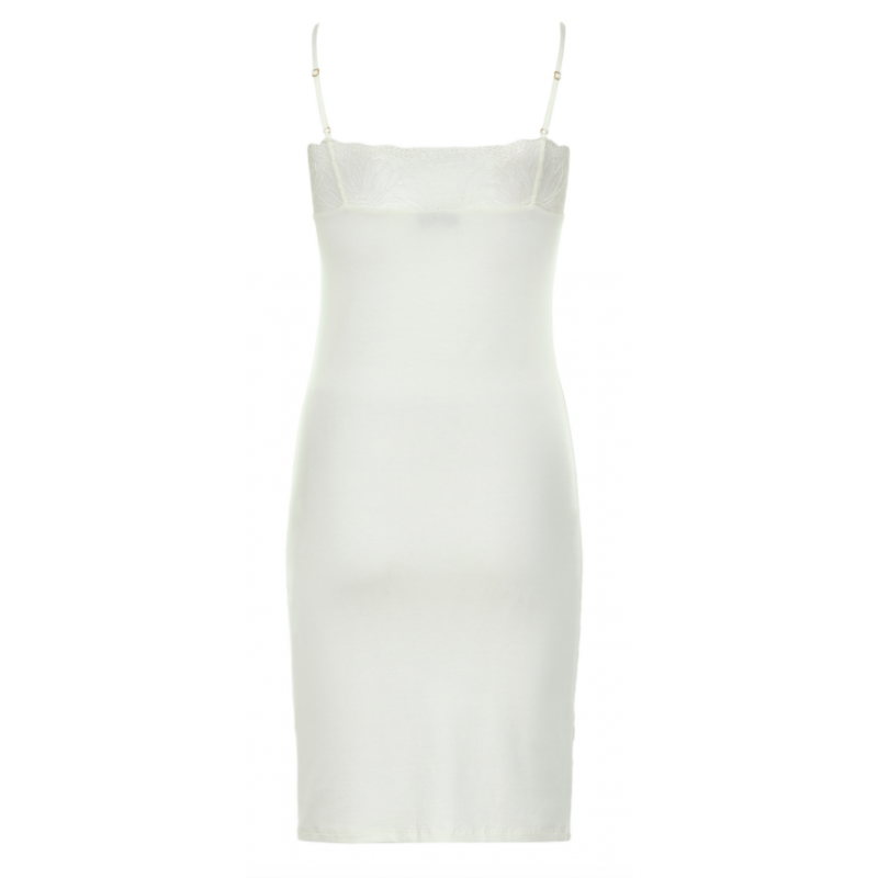 Six Ames penny dress cream