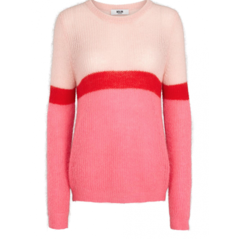 Moliin Lisette sweater hot pink