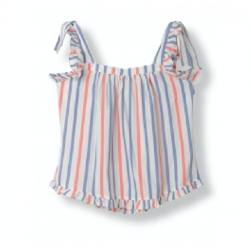 Cotton Stripes Top
