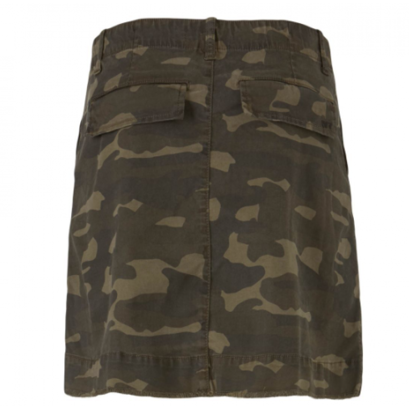 Kendall Skirt Camouflage Ivy