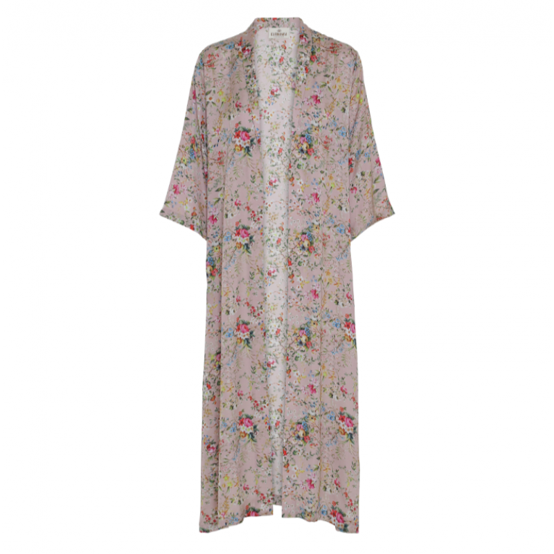 Blush Bloom Kimono(long)