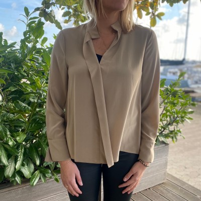 Mind Silk Blouse Toupy