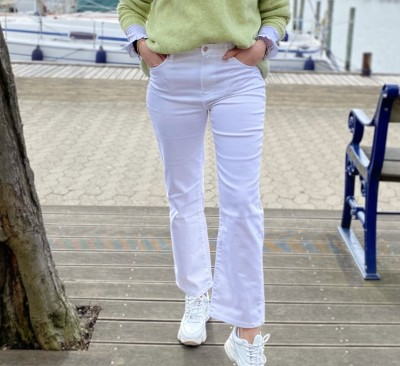 Frida Jeans White Ivy