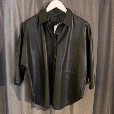 Black leather shirt Depeche