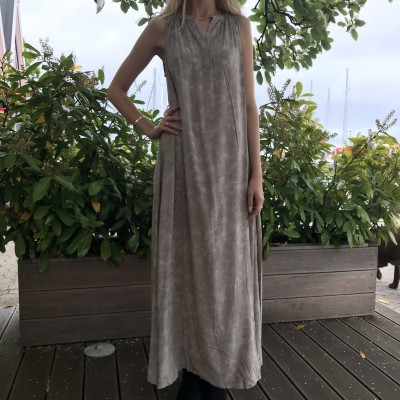 LIV KALEIDOSCOPE LONG DRESS RABENS SALONER