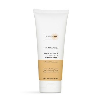 SUN Pre- & After lotion - 200ml - Karmameju