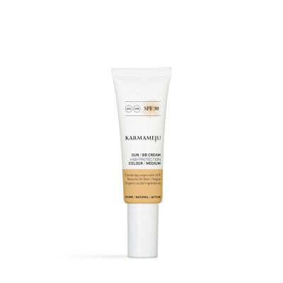 SUN BB Cream, SPF 30 Medium - Karmameju
