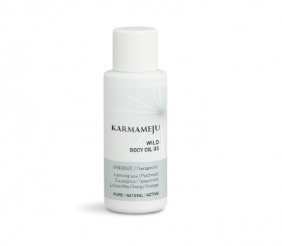 Body Oil 03 WILD - Travel Size Karmameju