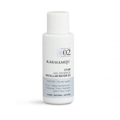 Micellar Water Cleanser 02 STAR - Travel Size Karmameju