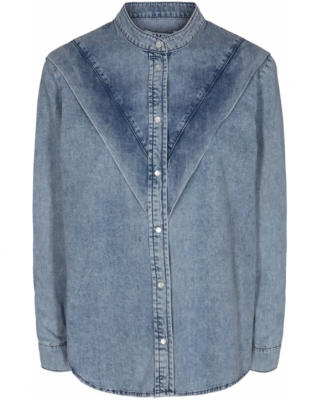 Tony Denim Shirt Azid Wash Ivy