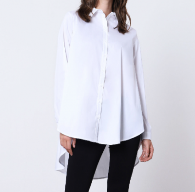 Shirt Bianco with buttons Imperial