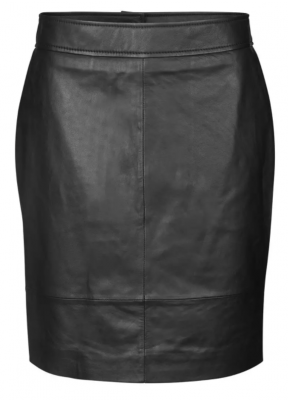 Francie Mini Leather Skirt Second Female