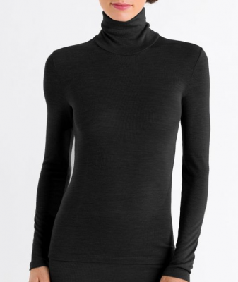 Turtle-neck Shirt - Woolen Silk Hanro