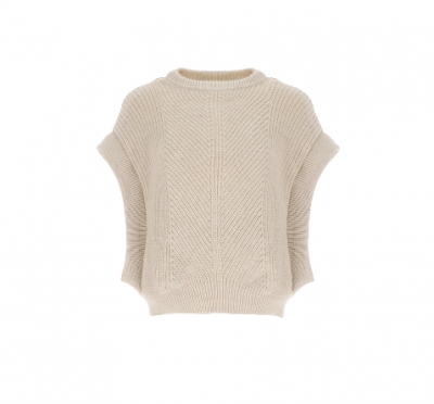 OVERSIZED RIBBED VEST Imperial