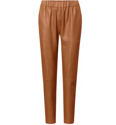 Loose leather pants Depeche