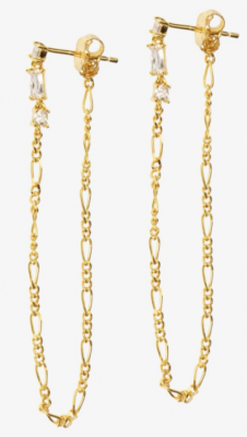 Valentina chain earring fra Hultquist