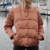 Short length technical down jacket