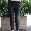 Pantaloni trousers nero