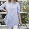 Asymetric Flared Blouse