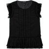 Cotton top with ruffles