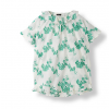 Flower Cotton T-shirt